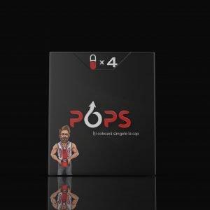 Pastile pentru potență Pops (4 capsule)